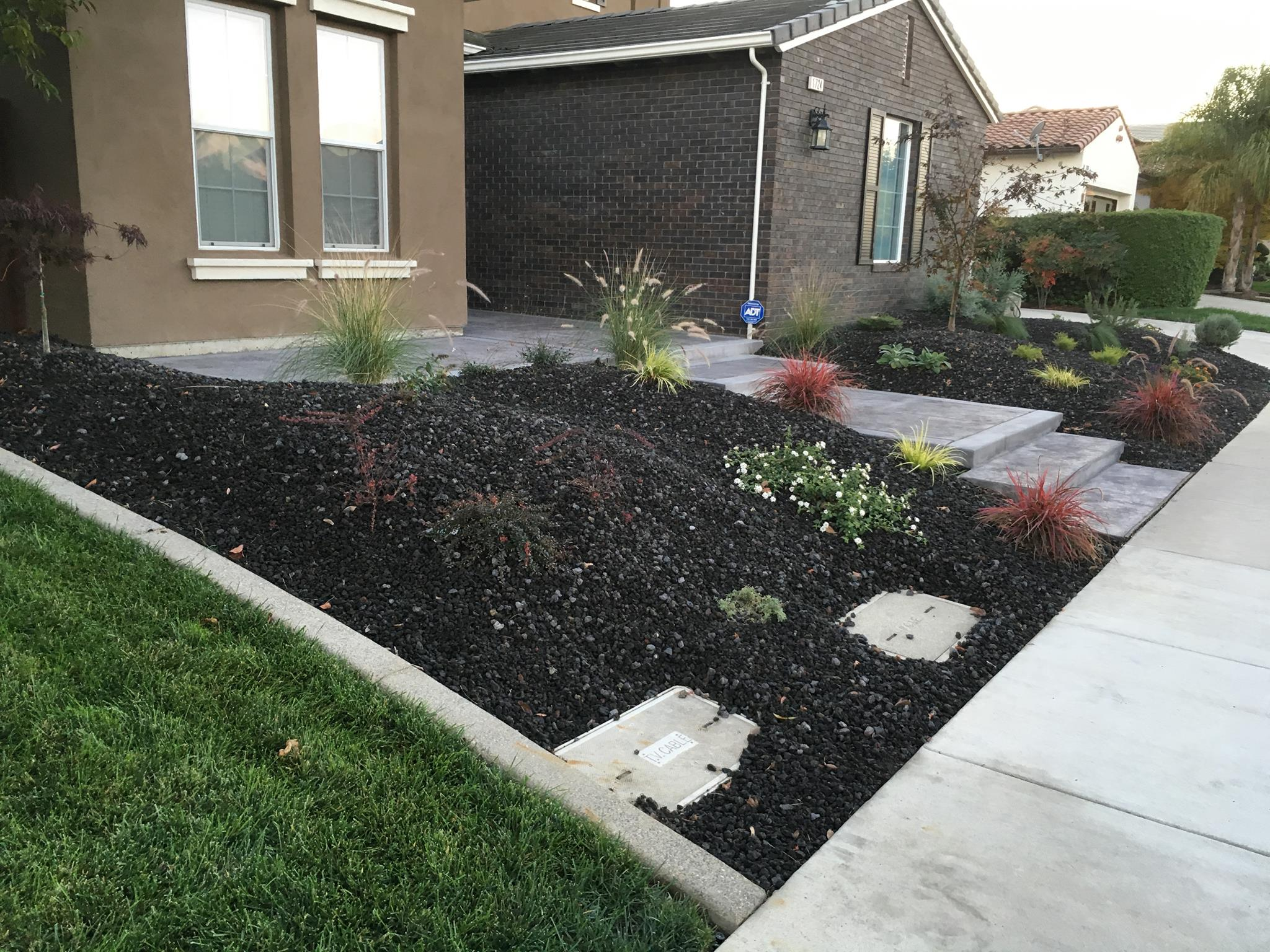 Gourgeous Landscaping Aj's Landscaping brentwood Antioch Oakley