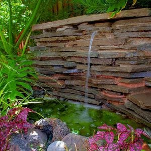 stone Fountain waterscape
