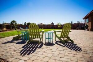Backyard landscape remodel - patio