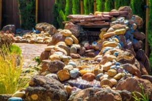 waterscape stone fountain