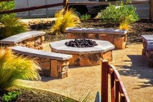 Landscape Design - Hardscape Fire pit